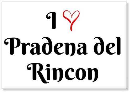 Mundus Souvenirs - Amo Pradena del Rincon, Imán para Nevera (diseño 1)