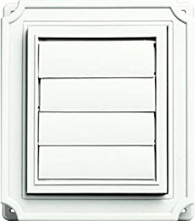 Builders Edge 140137079123 Vent, White