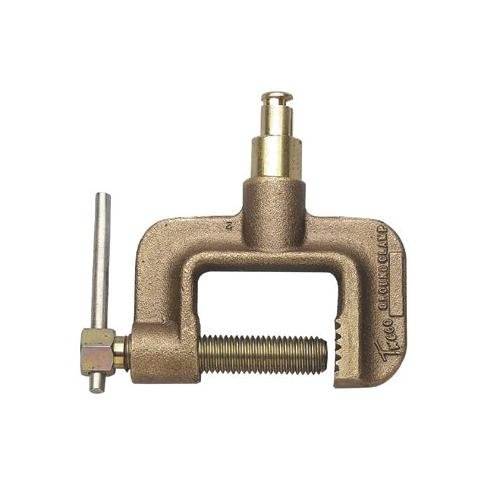 GC-600-TMP 600 Amp C-Clamp Style Ground Clamp With Tweco Male Plug