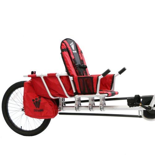 Fahrradanhänger Kinder und Gepäck Weehoo Venture Cargo