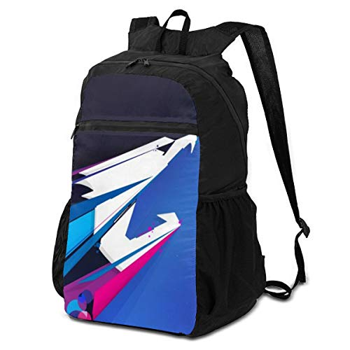 KXT Aorus Storage Packet Men's Travel Laptop Backpack, Folding Backpack