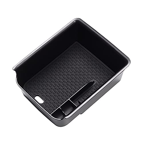 zhuzhu Caja De Almacenamiento del Reposabrazos del Coche Ajuste para El Golf 8 MK8 GTE R 2020 2021 Control Central Caja De Apoyabrazos Auto Accesorios Interiores (Color Name : Black)