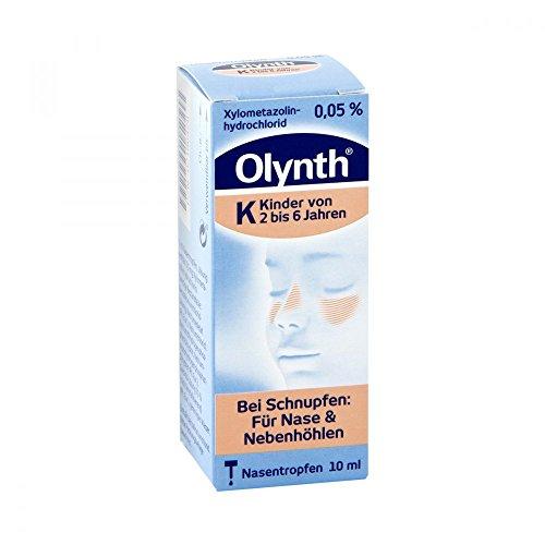 Olynth K Nasentropfen bei Schnupfen, 10 ml Lösung