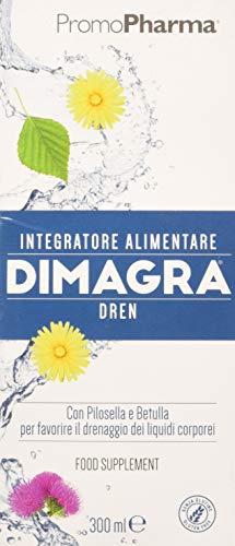 DIMAGRA DREN – DRENANTE FORTE DIMAGRANTE PER COMBATTERE LA RITEZIONE IDRICA - Favorisce il drenaggio dei liquidi corporei e la depurazione dell'organismo - Integratori dimagranti