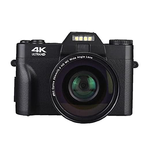 Fotocamera digitale Vlogging videocamera digitale per principianti 48,0 Fotografia YouTube Video nero, macchina fotografica digitale