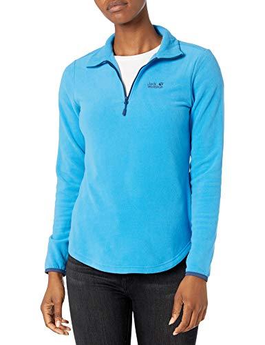 Jack Wolfskin Echo Sweatshirt Femme Sweatshirt Femme Brilliant Blue FR : XL (Taille Fabricant : XL)