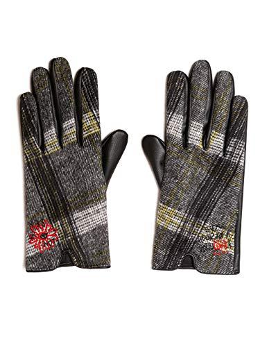 Desigual Damen GLOVES TARS Handschuhe, Weiß (Crudo 1001), One Size (Herstellergröße: U)