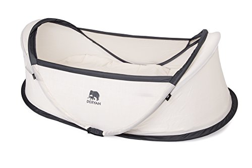 Deryan INBB Infant BabyBox Lettino/Tenda da Viaggio, Beige