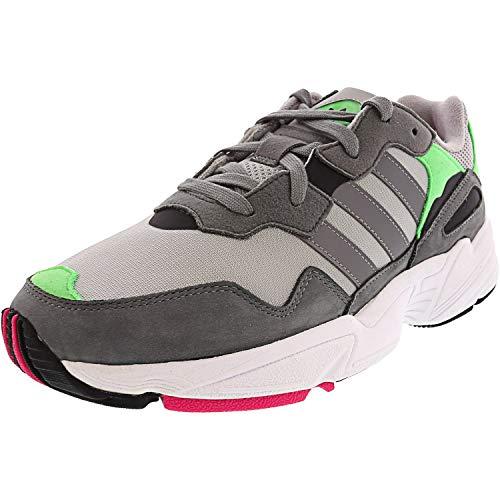Adidas Men's Yung-96 Grey Two/Three Shock Pink - 8.5M