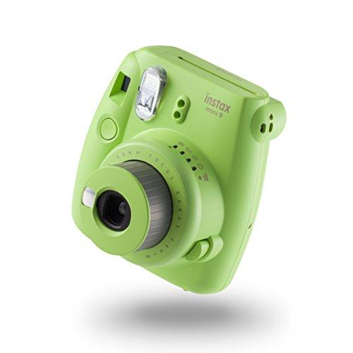 Fujifilm Instax Mini 9 - Cámara instantánea, Cámara con  10 películas, Verde