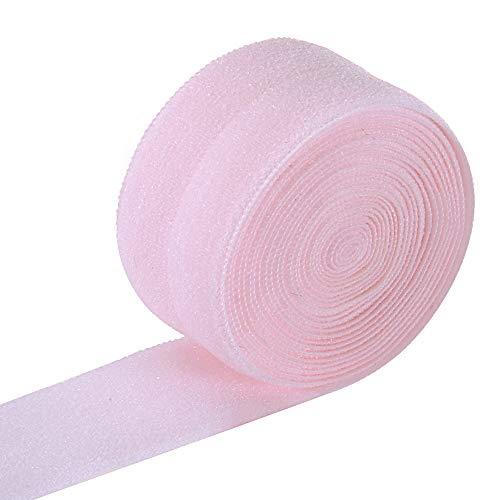 Ninepeak Fold-Over Elastic, 5 Yard (Pink, 3/4-Inch)