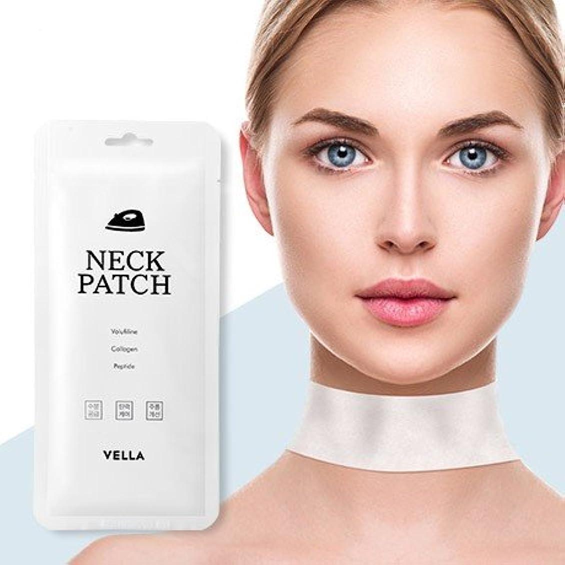 開拓者過度の面倒Vella Neck Patch 5Pcs/Neck Wrinkle Care/Korea Cosmetics