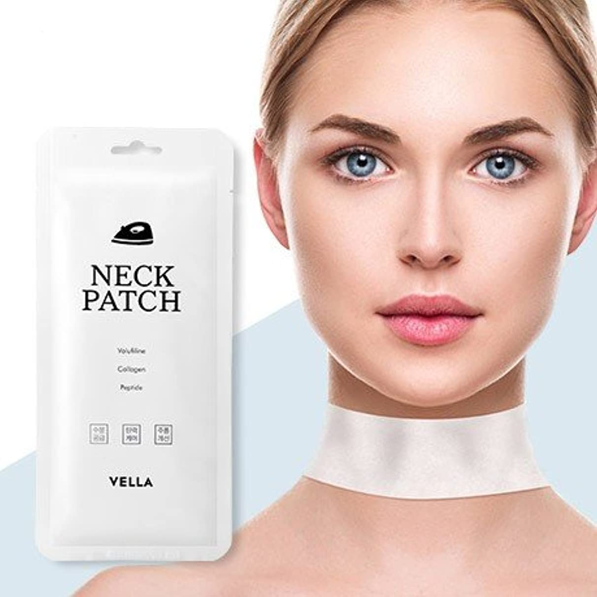 友情ジョガー協力するVella Neck Patch 5Pcs/Neck Wrinkle Care/Korea Cosmetics
