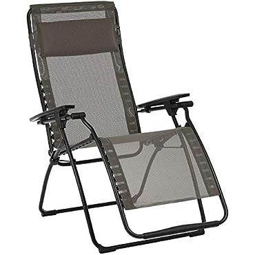 Lafuma Futura Clipper Mesh Chair Basalt/Graphite, One Size