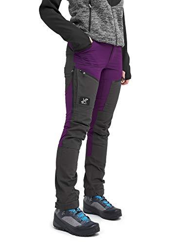 RevolutionRace Damen GPX Pro Pants, Hose zum Wandern und für viele Outdoor-Aktivitäten, Purple Rain, 44