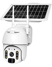 4g / Wifi Bateria Słoneczna Bezprzewodowa Kamera Bezpieczeństwa, Hd 1080p Outdoor Wodoodporna 2mp Cctv Strona Główna Surveilance Securveillance Ip Kamera Ip, Spotlight, Chmura/Sd Slot Sto(Size:WIFI)