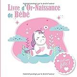 Livre d'Or - Naissance Bébé - C'est une fille: Livre d'or naissance fille | Fête de naissance bébé | Naissance fille | Maternité | 20,96cm x 20,96cm | ... | Fête bébé | fond blanc jolie licorne
