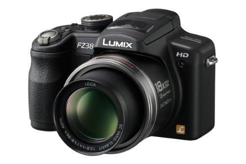 Panasonic Lumix DMC-FZ38EG-K - Cámara Digital Compacta 12.1 MP - Negro (2.7 Pulgadas LCD, 18x Zoom Óptico)
