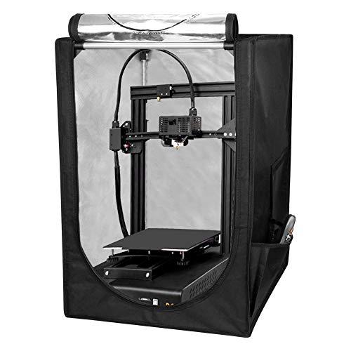 Caja de impresora 3D 4YANG, cubierta de impresora de temperatura constante a prueba de polvo a prueba de sonido tienda de calefacción para sala de impresión 3D para Ender 3, Ender 3 Pro, Ender 5