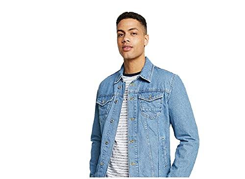Guess William Jacket Jeans - Chaqueta para hombre (talla XXL)