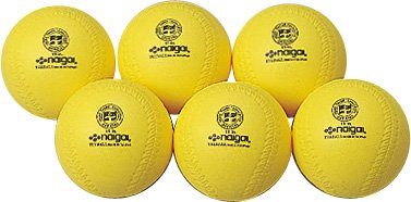 ナイガイNAIGAIライトボール 9インチ イエロー NGG-138133