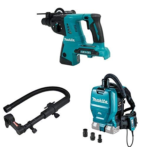 Review Makita XRH05Z 18V X2 LXT (36V) 1-Inch Rotary Hammer (Tool Only), 193472-7 Dust Extraction Att...