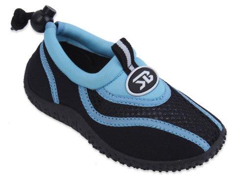 starbay New Brand Kid's Blue & Black Athletic Water Shoes Aqua Socks Size 12