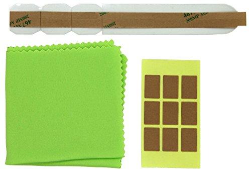 Thorani 1er Set Ersatz-Klebesticker und doppelseitige Ersatz-Klebesticker für Blickschutzfilter Sichtschutzfolie für Monitor, Laptop und MacBook