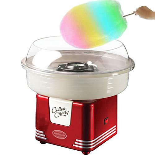 ZCED Macchina per Zucchero Filato per Bambini Professionale Cotton Candy Machine Preparazione Cotton Candy Maker in Casa per Sweet Party