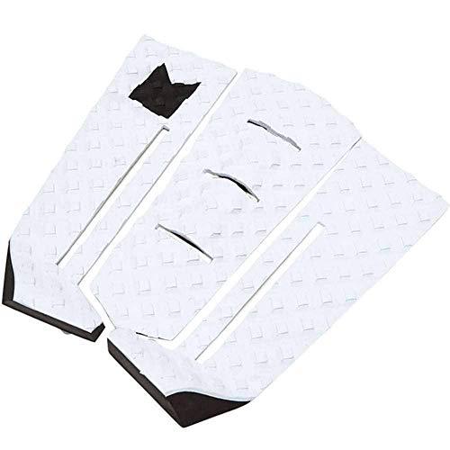 Modom Taj Burrow - Almohadilla para tabla de surf (3 unidades), color blanco