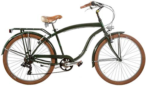 Bici Misura 26 Uomo City Bike Beach Cruiser 7V Art. BCR26U