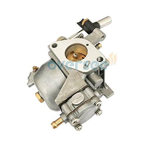 OVERSEE 13200-91D21 or 13200-939D1 Outboard Carburetor for Suzuki Outboard Motor 15HP DT15 DT9.9, Boat Motor Carburetor Assembly, Replacement Carburetor Aftermarket Parts
