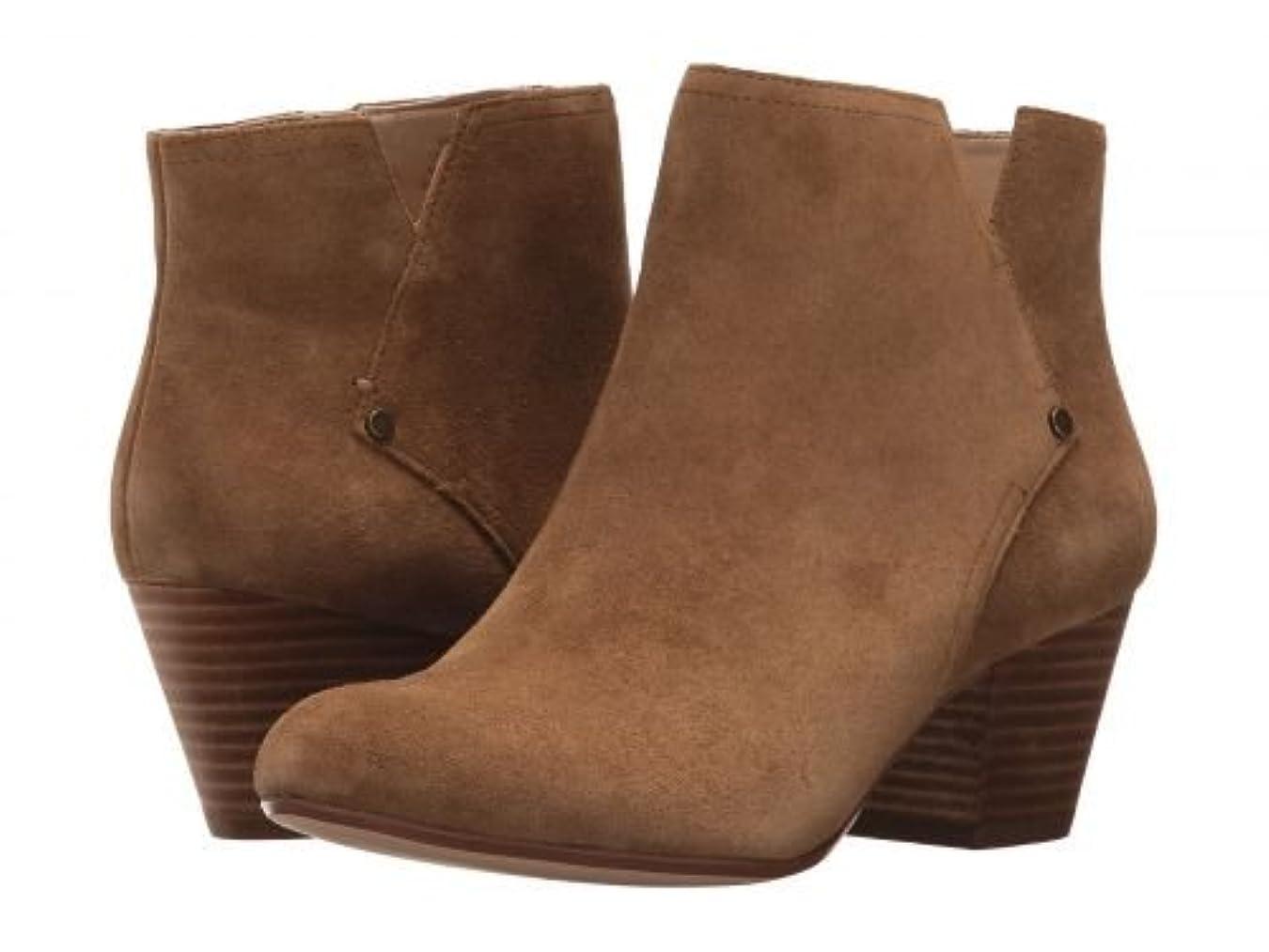 そよ風分注するハントNine West(ナインウエスト) レディース 女性用 シューズ 靴 ブーツ アンクルブーツ ショート Hadriel - Green Suede [並行輸入品]