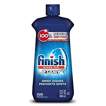 Finish Jet-Dry Rinse Aid Dishwasher Rinse Agent and Drying Agent 23 fl oz Packaging may vary