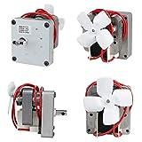 Tiyuu 230 V 50 Hz 1,5 RPM Motor de barrena para Pit Boss parrilla de ahumador de pellet de madera eléctrica