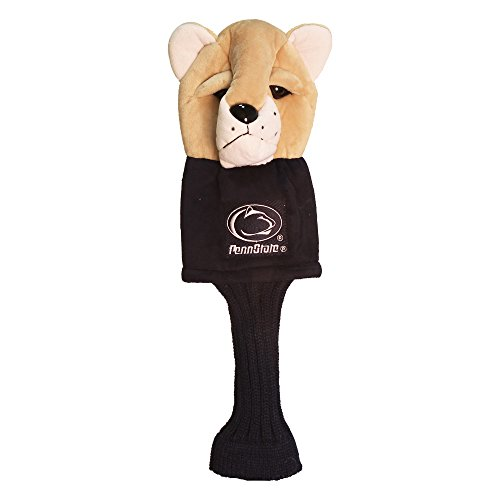 Team Golf NCAA Penn State Nittany Lions Mascot Golf Club Headcover, Fits most Oversized Drivers, Extra Long Sock for Shaft Protection, Officially Licensed Product