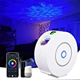 Jules.V Star Light Projector w/LED Nebula Cloud for Game Rooms, Home Theater, Bed Rooms, Game Night, Holiday Occasions with App Connection Voice Command via Amazon Alexa/Google Assistant