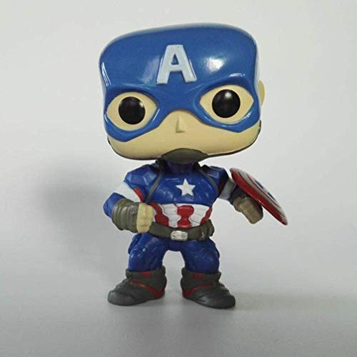 XVPEEN Modelo Marvel Capitán América: Civil War Capitán América Modelo De Personaje Animado Doll