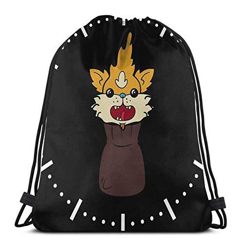 Squanch Me Inside A Bag Bolsa con cordón para deporte, gimnasio, bapa sapa bolsa de cuerda de cincha impermeable bolsa de playa para gimnasio, compras, deporte, yoga