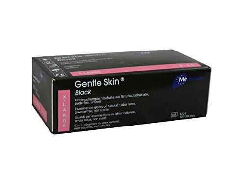 Meditrade 1224XL Gentle Skin Black, 1er Pack (1 x 100 Stück)
