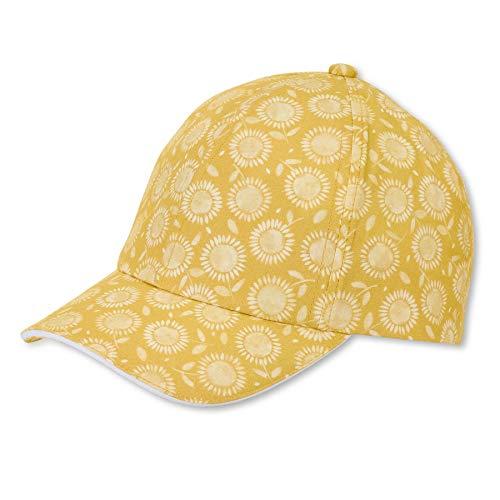 Sterntaler Baby-Mädchen Baseball-Cap 1422102 Baseballkappe, gelb, 53