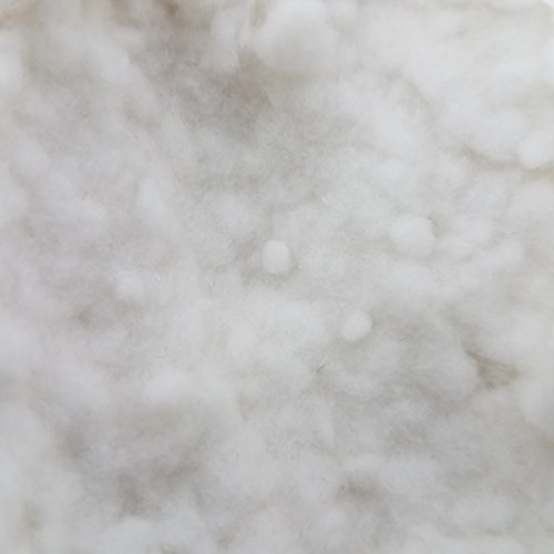 donjer suede-tex Beflockung Fasern, 1lb Tasche, weiß (Rayon)