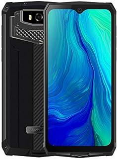Blackview BV9100 Rugged Phone, 4GB+64GB, IP68/IP69K/MIL-STD-810G Waterproof Dustproof Shockproof, Dual Cameras, 13000mAh Battery, Face ID & Fingerprint ID, 6.3 inches Android 9.0, NFC, 4G(Black Grey)