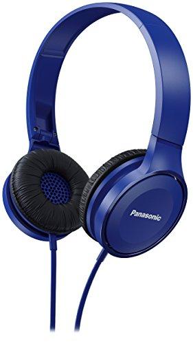 Panasonic RP-HF100ME-A - Auriculares Diadema Cerrados con Cable (Microfono y Manos Libres,...