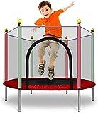 Mopoq 55 in Trampoline for Kinder mit Sicherheitskabine Net   Indoor Outdoor Trampoline Trampolin for Jungen Mädchen   600 Lbs Last