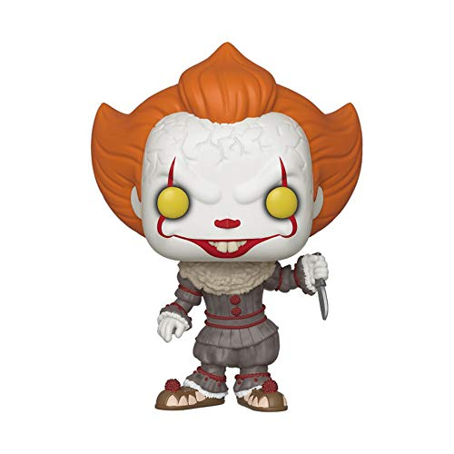 Funko- Pop. Vinyl: Movies: It: Chapter 2-Pennywise W/Blade Figura da Collezione, Multicolore, 40632