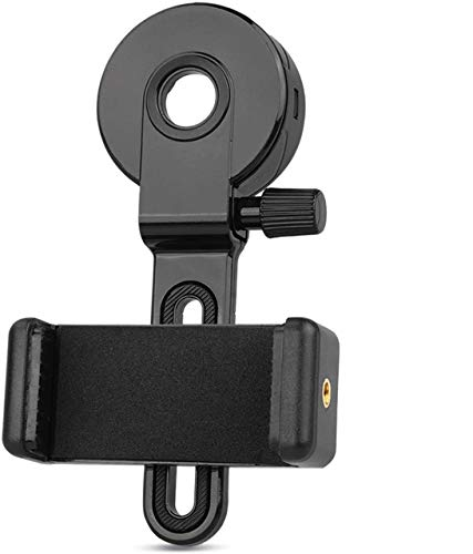 QMEET Telescope Cell Phone Adapter Mount | Smartphone Adapter for Telescope | Spotting Scope Phone Adapter | Telescope Phone Mount | Monocular Telescope Adapter.…
