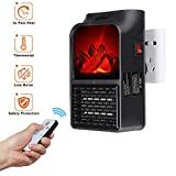 Goglor Mini Portátil Handy Heater, 900W Flame Heater...