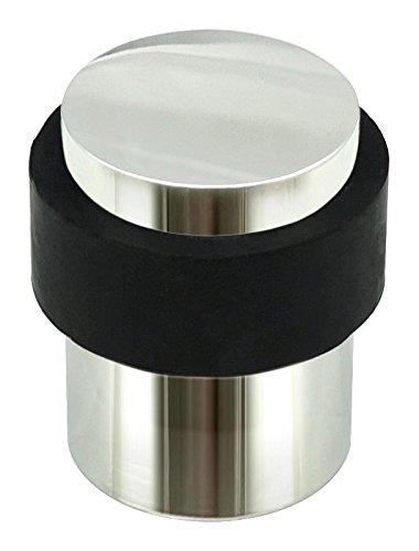 INOX DSIX02-32 Cylindrical Floor Mount Door Stop, Polished Stainless Steel