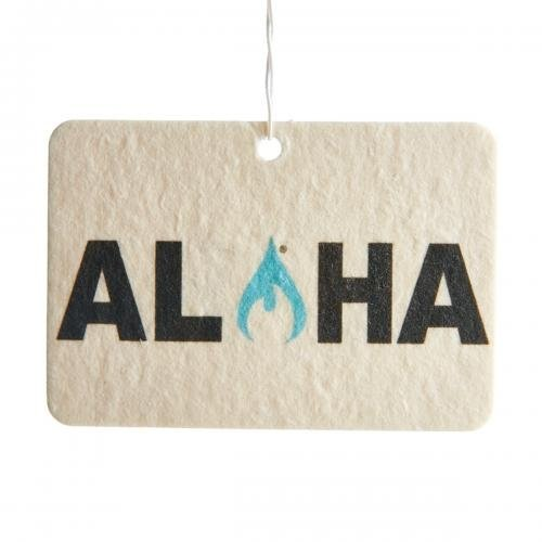 Ulu Lagoon 3 Pack of Aloha Mini Wave air fresheners. Scent of surfwax.